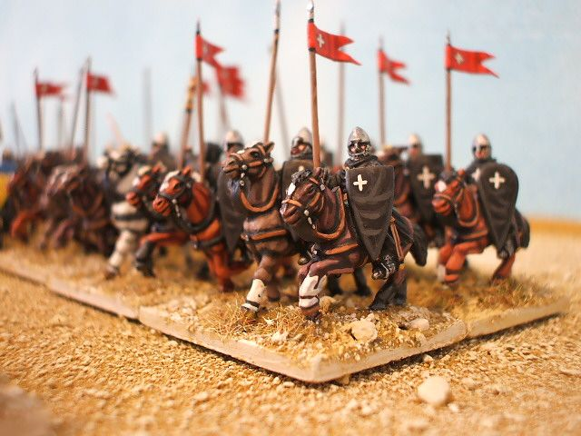 The charge of the Hospitaller knights